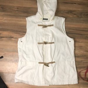 Ralph Lauren sz L nautical inspired vest
